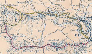 Blue Ridge Parkway Routing The Parkway 1934