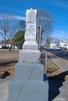 Confederate Monument, Salisbury, NC