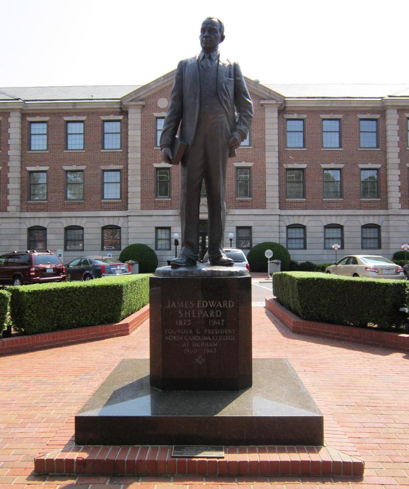 Commemorative Landscapes of North Carolina | James Shepard Statue ...