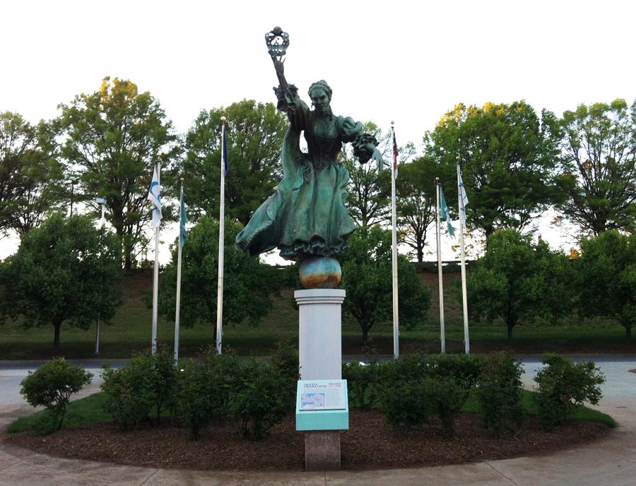 Commemorative Landscapes Of North Carolina Queen