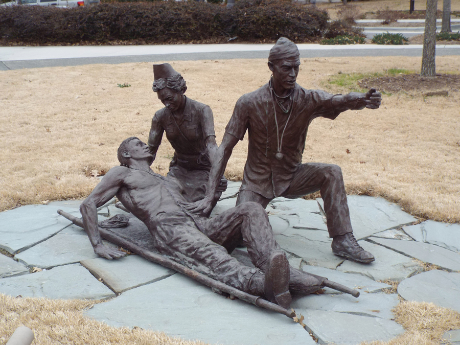 Commemorative Landscapes Of North Carolina 65th General Hospital