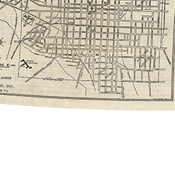 North Carolina Maps: Map of Raleigh, N.C., 1914