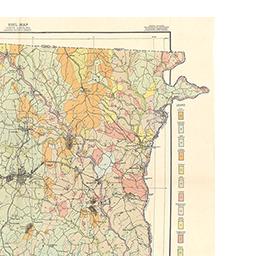 Gaston Nc Map.North Carolina Maps Gaston County Soil Survey 1909